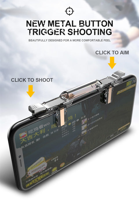 Gaming Trigger Fire Button Aim Key