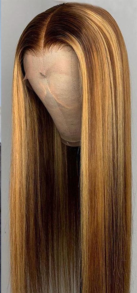 Blonde/ Brown Ombre Frontal Wig
