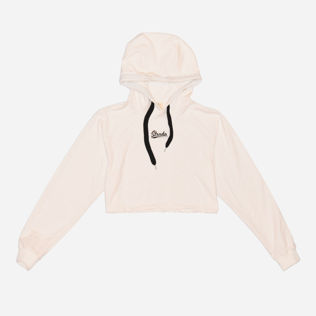 Strada Cropped Hoodie SKY - Off White