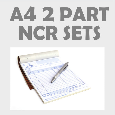 A4 2 Part NCR Sets