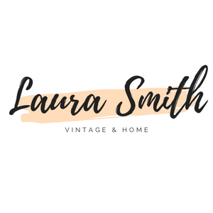 Laura smith vintage home logo