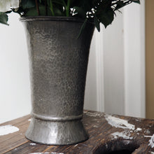 Load image into Gallery viewer, PEWTER VASE