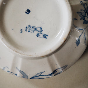 Base of Victorian soap dish