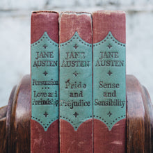 Load image into Gallery viewer, BEAUTIFUL SET OF THREE VINTAGE JANE AUSTIN BOOKS