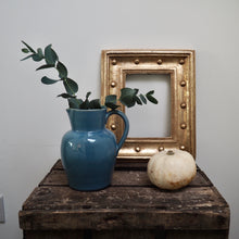 Load image into Gallery viewer, Blue stoneware jug