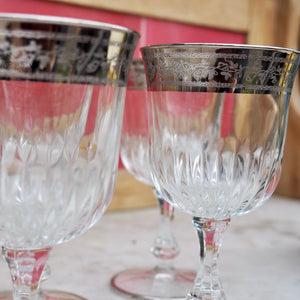 Vintage sherry glasses