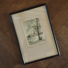 Load image into Gallery viewer, GRASMERE - FRAMED SIGNED PRINT BY GEORGE H DOWNING