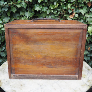 FIVE DRAWER RUSTIC STATIONARY CHEST