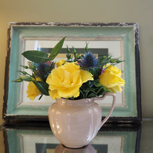 Load image into Gallery viewer, 1930's jug and flowers