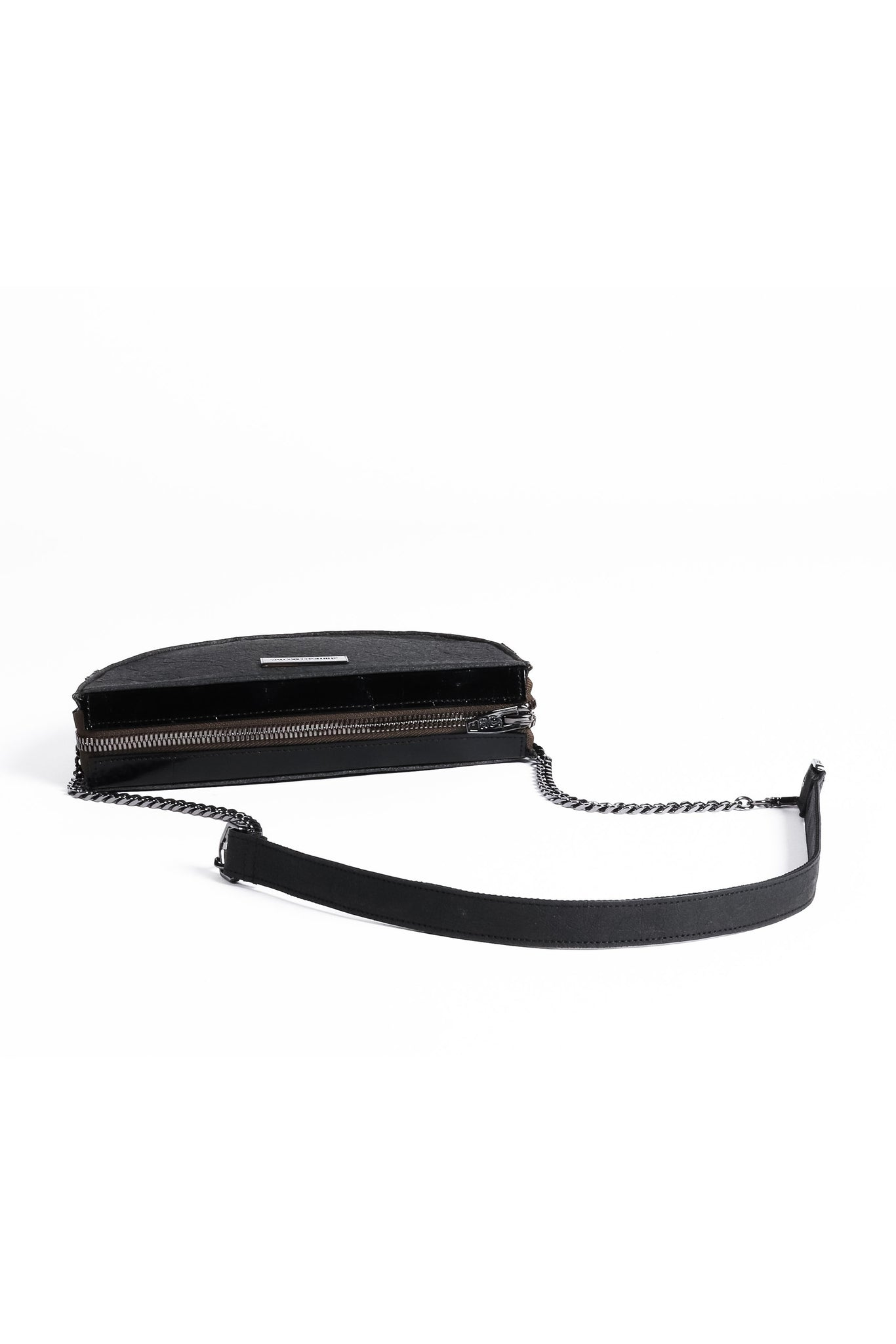 Halfmoon Mini Clutch - Smoke