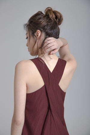 Cross-Back Dress