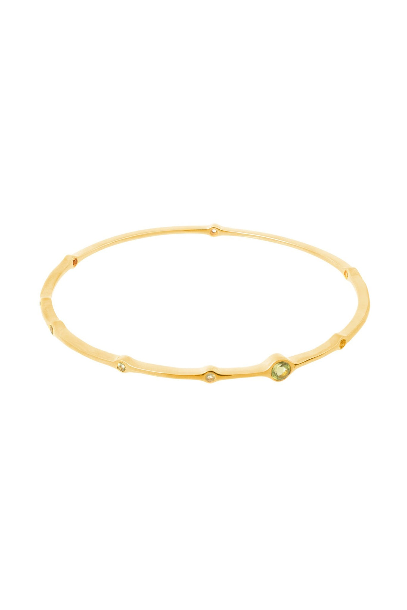 SOPHIA PERIDOT BANGLE