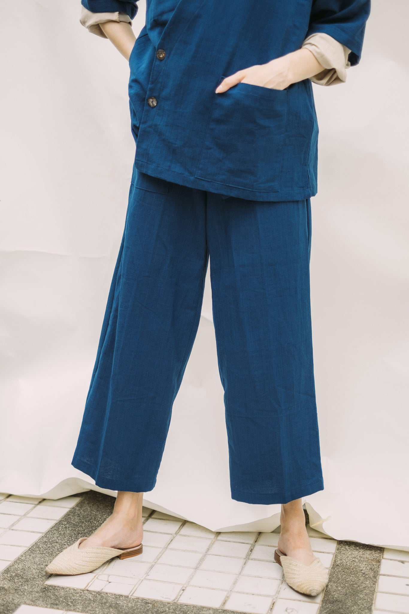 Dawn Trousers - Indigo