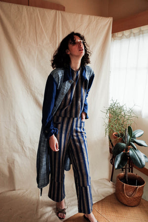 Soloist Trousers - Indigo Stripes