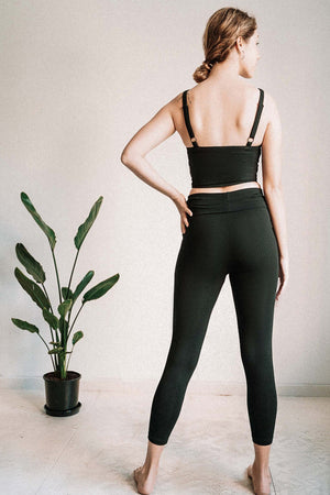 Flow Legging | Black | Organic Cotton
