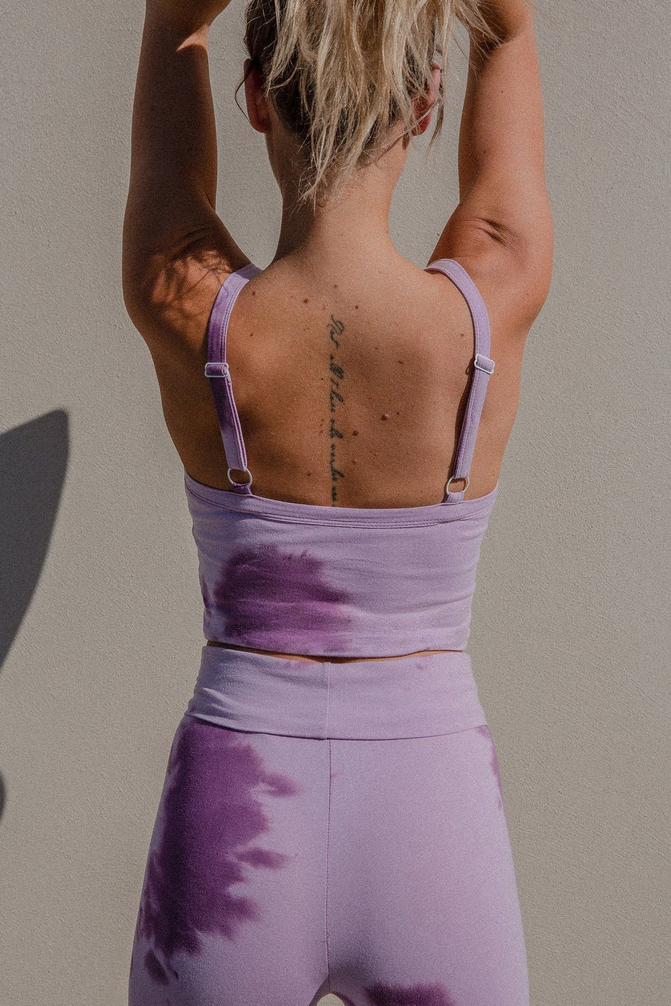 Joy Crop | Tie-Dye Lavender | Organic Cotton