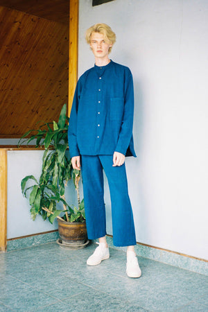 Leisure Trousers - Indigo