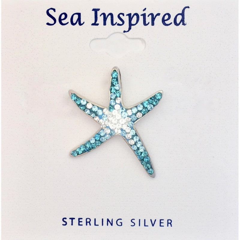 Sterling Silver Sea Star Pendant