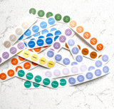 Builders Bundle Circle labels perfect for samples + bottle tops. - Essential Oil Magic