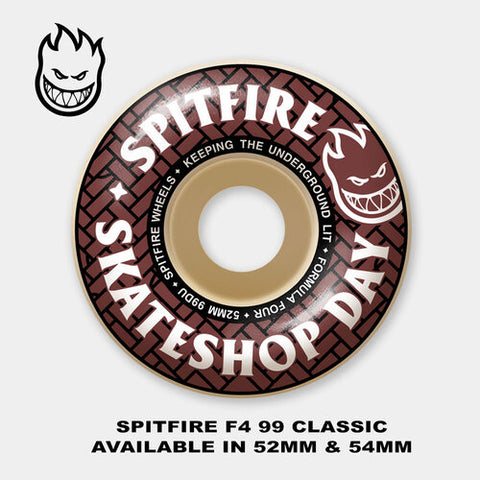 Spitfire skate shop day wheels