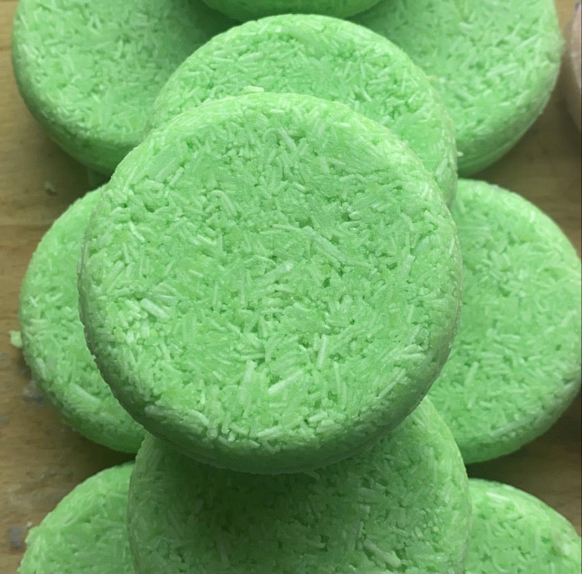Mint & Avocado Oil Shampoo Bar