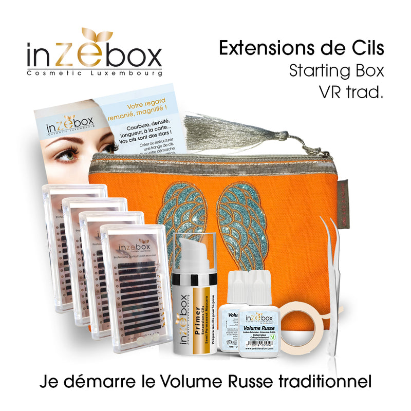 Extensions de Cils - Starting Box - Volume Russe -Traditionnel