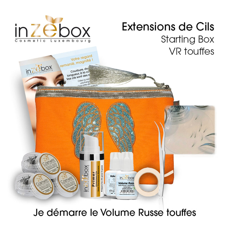 Extensions de Cils - Starting Box - Volume Russe -Touffes