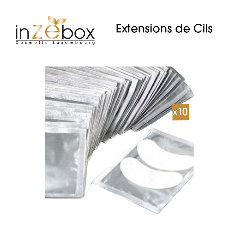 matériel extension de cils : patch aloe vera