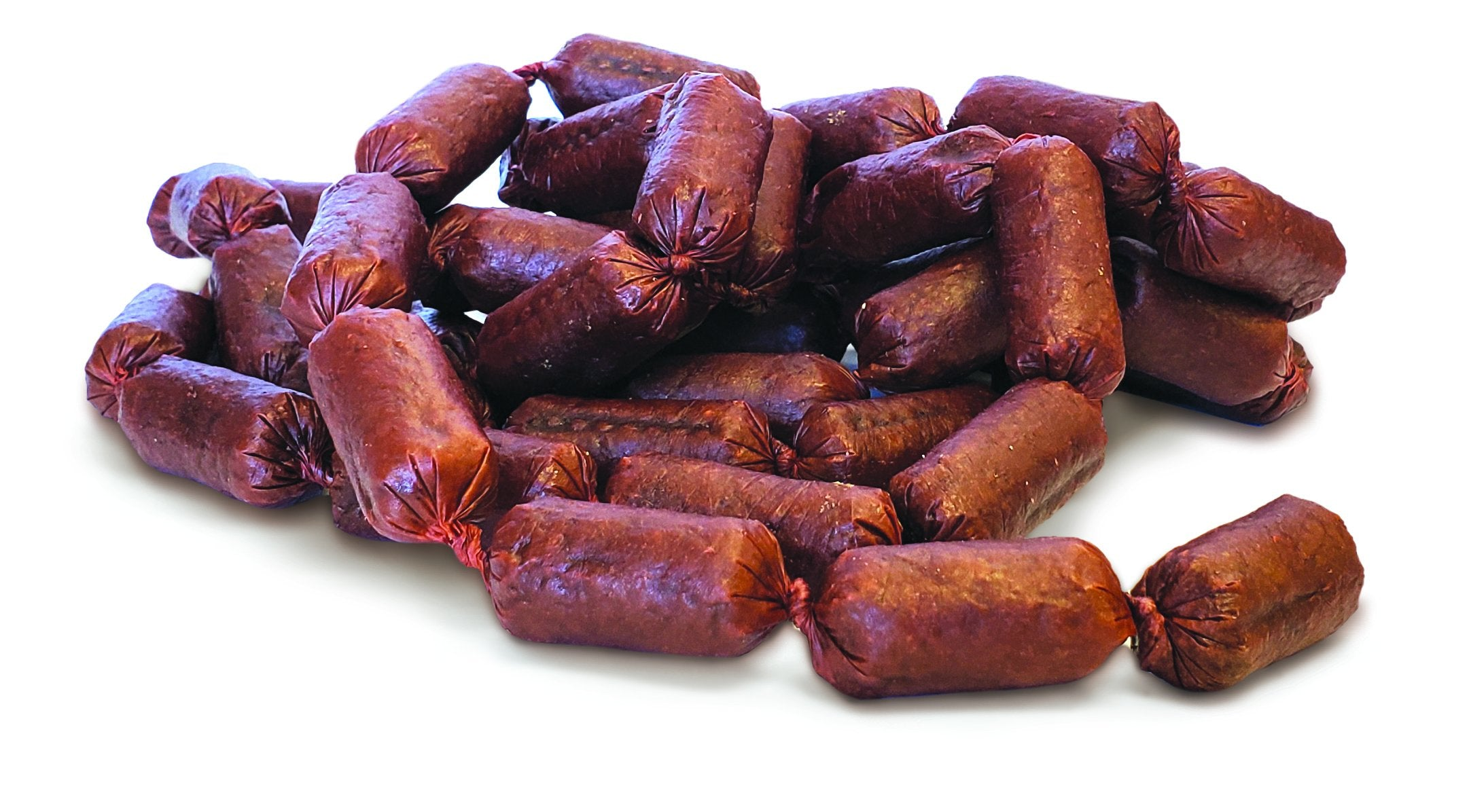 Beef Pepperettes Dog Treats Raw Product