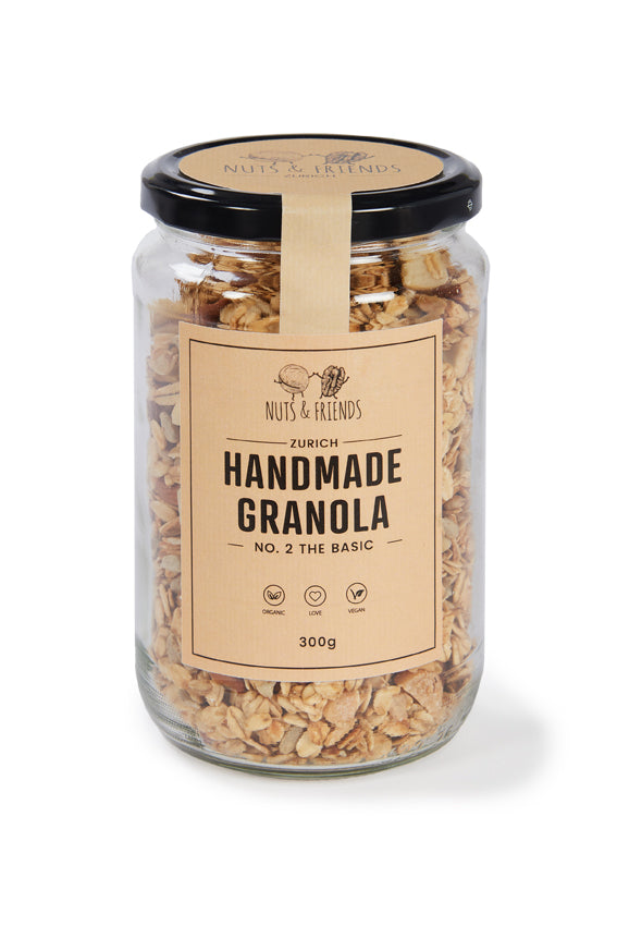Handmade Granola Nuts & Friends No.2 The Basic