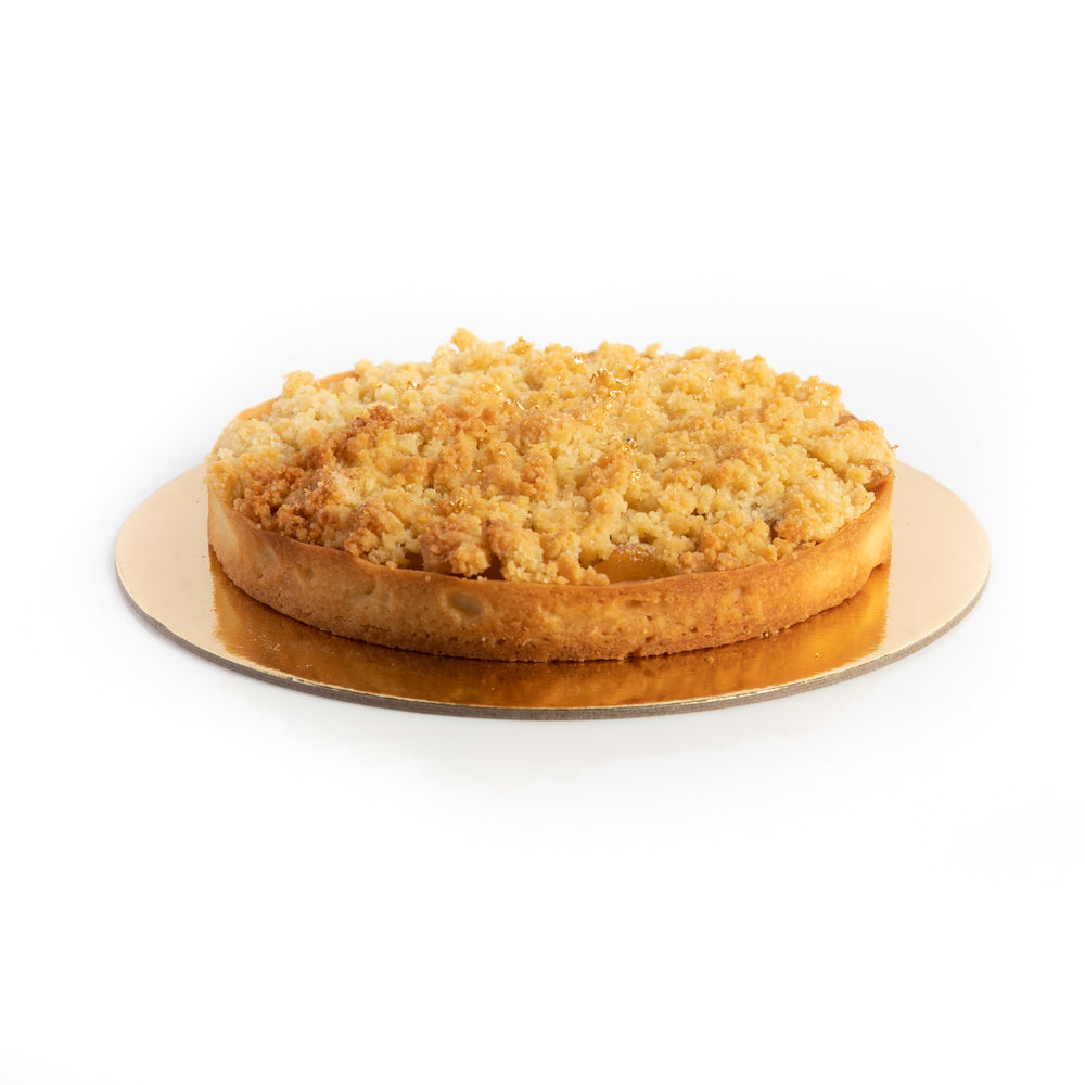 Apple And Salted Caramel Crumble