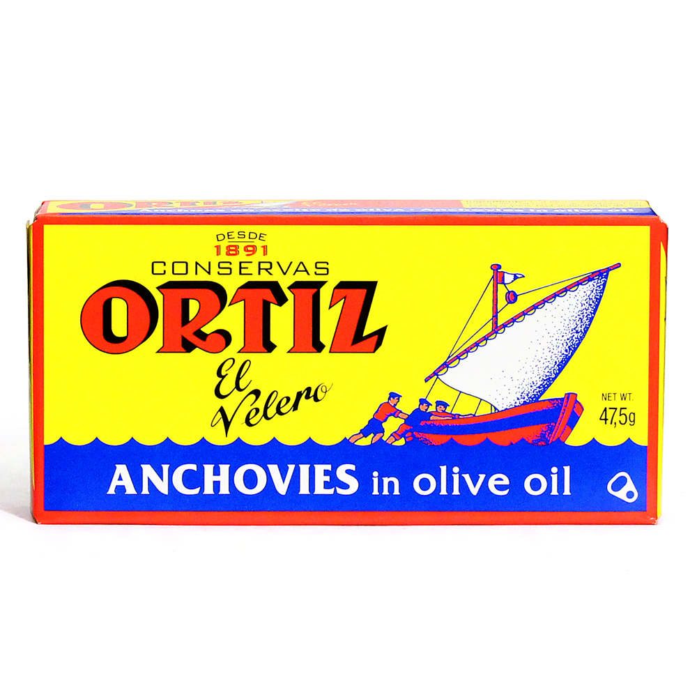 Ortiz Anchovies Fillets In Olive Oil