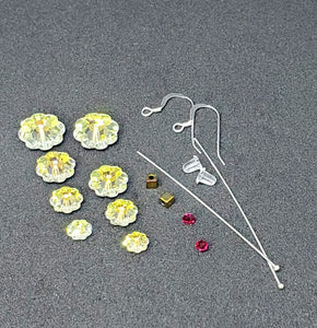 Earring Kit -   Swarovski Crystal Tree