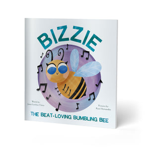 Load image into Gallery viewer, Bizzie, the Beat-Loving, Bumbling Bee