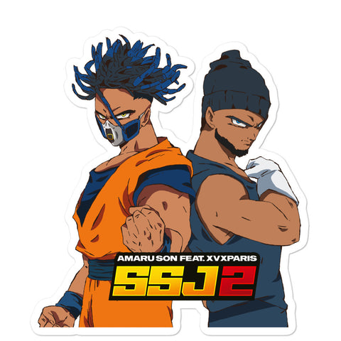 SSJ2 (Bubble-free stickers)