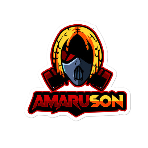 RED Amaru Son (Bubble-free stickers)