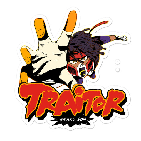TRAITOR (Bubble-free stickers)
