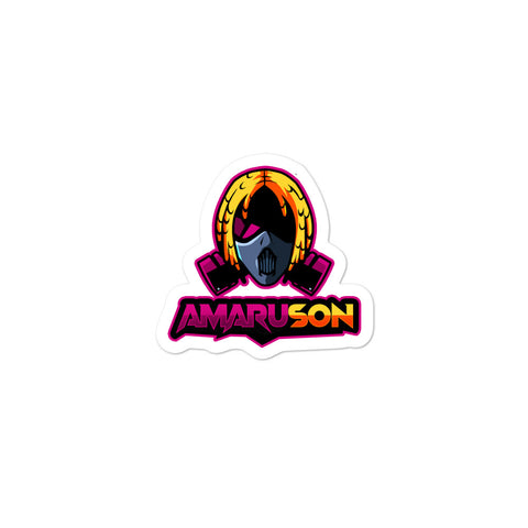 PINK Amaru Son (Bubble-free stickers)