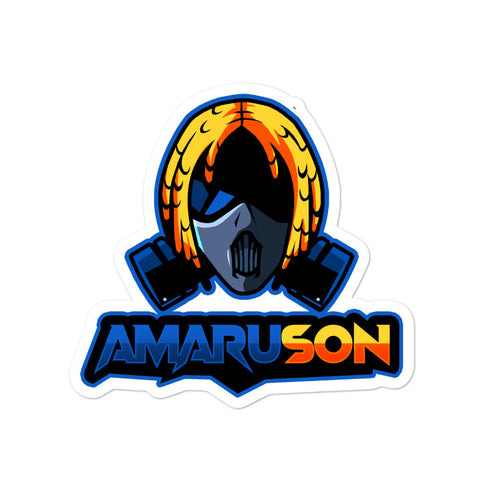 BLUE Amaru Son (Bubble-free stickers)