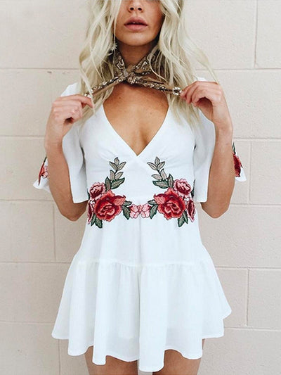 Angel Rose Chiffon Playsuit - 2 Love One