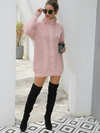 Aspen Knit Turtle-Neck Dress - 2 Love One