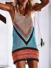 Beachy Keen Loose Knit Tunic - 2 Love One