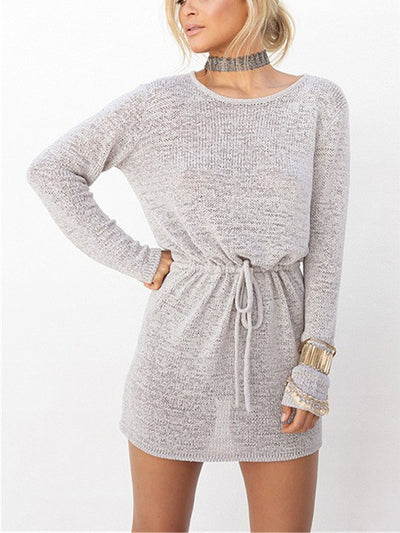 Callie Open Knit Back Dress - 2 Love One