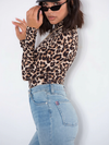 Cheetah Print Mock Neck Bodysuit - 2 Love One