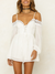 DID IT AGAIN ROMPER WHITE
