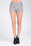 Floral Shorts With Black Trim - 2 Love One