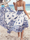 Delftware Boho Skirt - 2 Love One