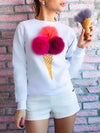 Ely Ice Cream Icon Sweater Top - 2 Love One