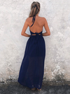 Flowy Split-Back Two Piece Dress - 2 Love One