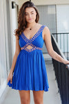 Speechless Beaded Party Dress - 2 Love One